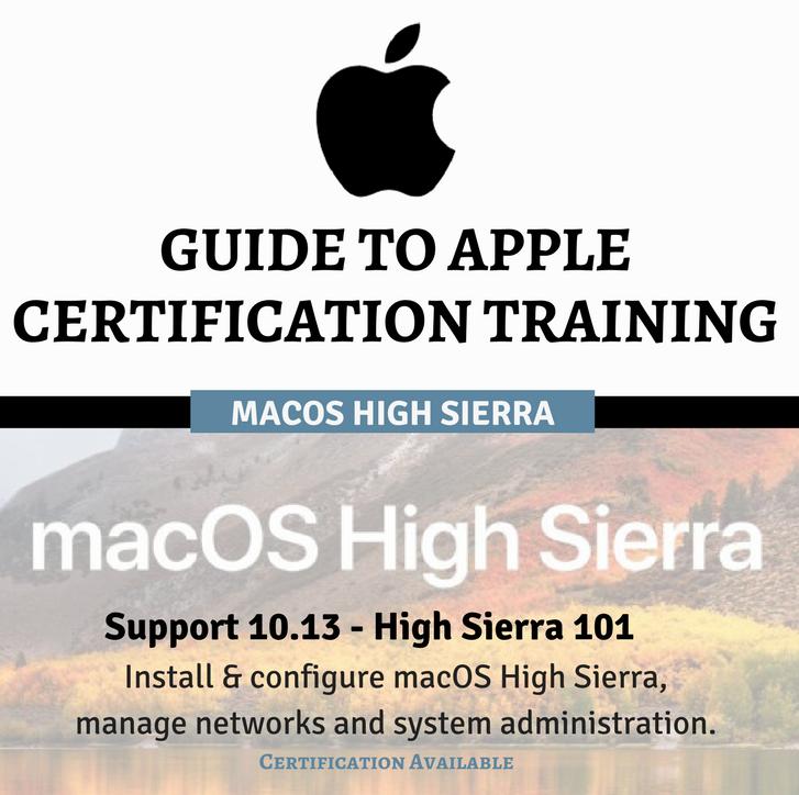 Guide To Apple Certification Training High Sierra Final Cut Pro X