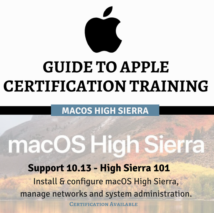 Guide To Apple Certification Training High Sierra Final Cut Pro X